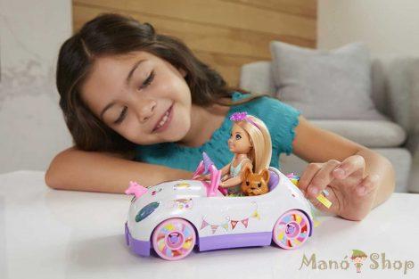 Barbie - Chelsea baba unikornis autója (GXT41)