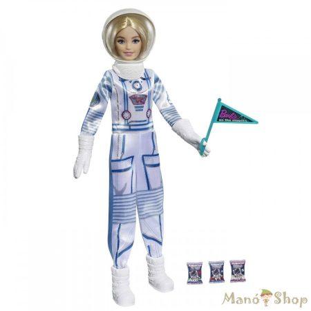 Barbie - Deluxe karrier játékszett - szőke asztronauta (GYJ99)