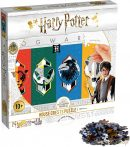 Puzzle Harry Potter Crests 500 db