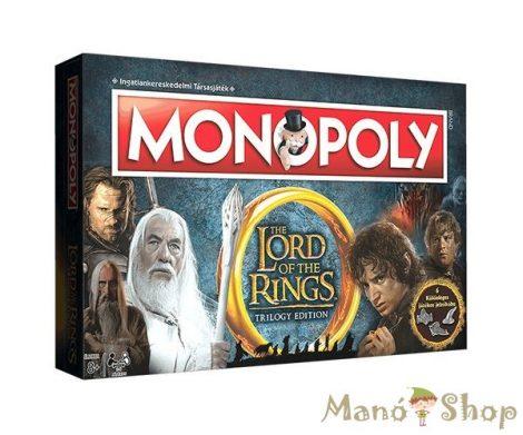 Monopoly Gyűrűk Ura (csomagolás sérült)
