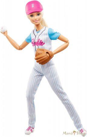 Sportoló Barbie - Baseball-os