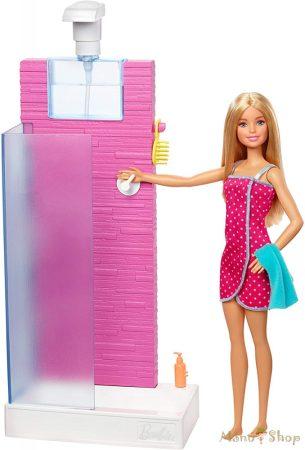 Barbie bútorok: fürdőszoba Barbie-val