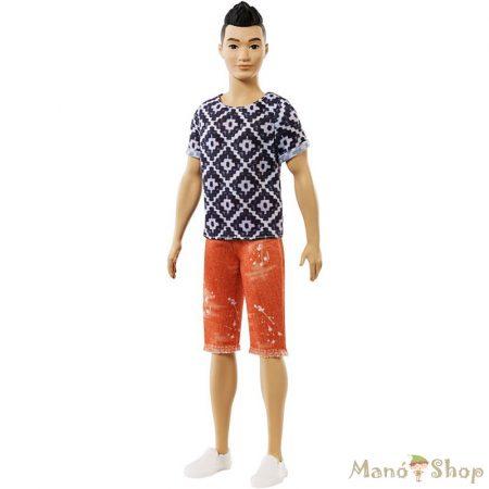 Barbie Fashionista barátok fiú babák - Fekete hajú