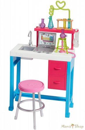Barbie karrier kiegészítő szettek - tudományos labor (FJB28)