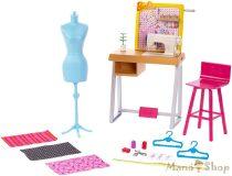 Barbie karrier kiegészítő szettek - Varróda