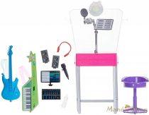 Barbie karrier kiegészítő szettek - Zenei studió