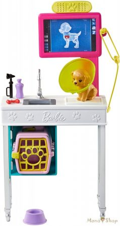 Barbie karrier kiegészítő szettek - Állatorvos