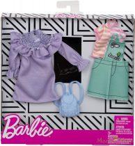 Barbie ruha szettek 2-es csomag (FXJ64)