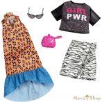 Barbie ruha szettek 2-es csomag (FXJ65)