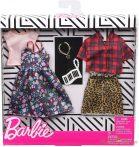 Barbie ruha szettek 2-es csomag (GHX57)