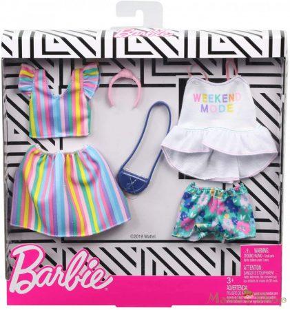 Barbie ruha szettek 2-es csomag (GHX59)