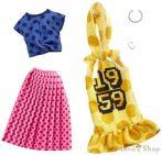Barbie ruha szettek 2-es csomag (GHX60)