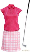 Barbie karrier ruhák - golfozó