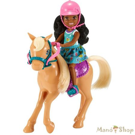Barbie - Chelsea baba lóval