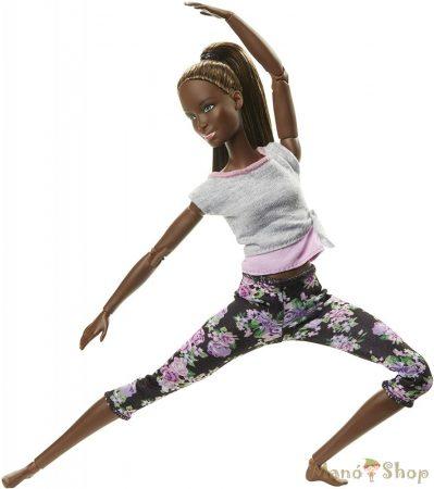 Barbie - Hajlékony jógababa (FTG83)