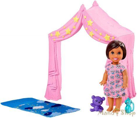 Barbie bébiszitter kiegészítő szettek - Pizsama parti