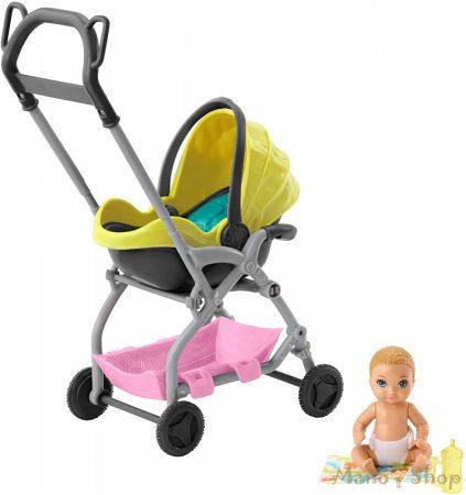 Barbie bébiszitter kiegészítő szettek - Babakocsi