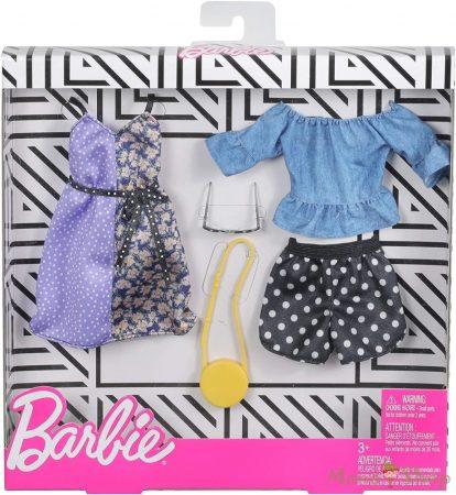 Barbie ruha szettek 2-es csomag (FXJ68)