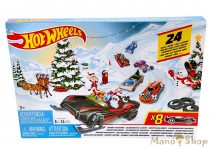 Hot Wheels Adventi naptár