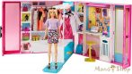 Barbie álom öltöző szoba babával