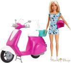 Katt rá a felnagyításhoz Mentés Barbie baba robogóval