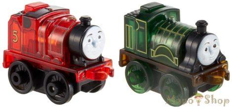 Thomas a gőzmozdony: Világító mini mozdonyok - 2 darabos - piros és zöld