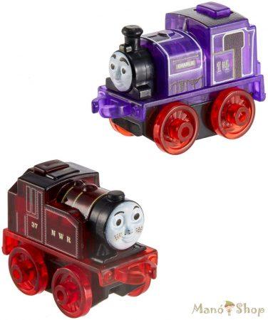 Thomas a gőzmozdony Világító mini mozdonyok - piros és lila