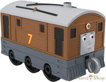 Thomas Track Master tologatós Toby mozdony