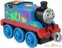 Thomas Track Master tologatós Festék foltos Thomas mozdony