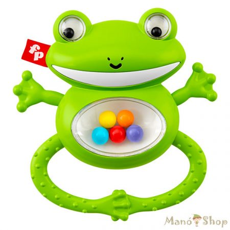 Fisher-Price Szafari békás csörgő