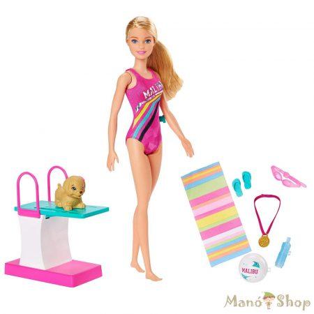 Barbie Dreamhouse Adventures - Barbie úszóbajnok szett