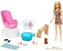 Barbie feltöltödés Körömstúdió játékszett