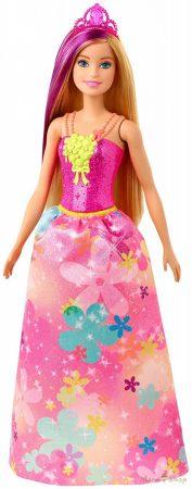 Barbie Dreamtopia Szőke-lila hajú hercegnő baba