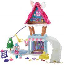 Enchantimals Téli üdülő központ Bevy Bunny babával