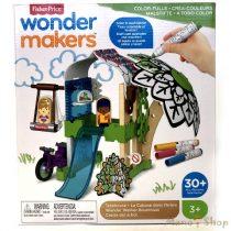 Fisher-Price Wonder Makers színezős faházikó