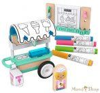 Fisher-Price Wonder Makers színezős fagyiskocsi