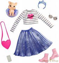 Barbie Princess Adventure - Divatcsomag kiskedvenccel GML64