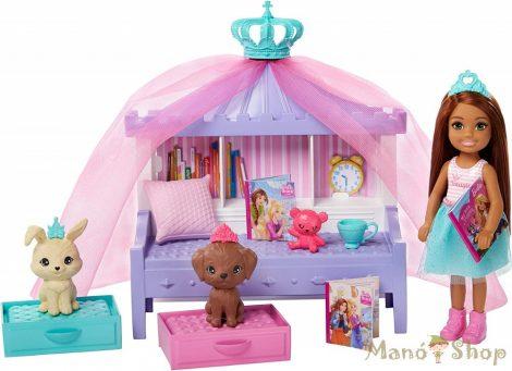 Barbie Princess Adventure - Chelsea hercegnő játékszett GML74