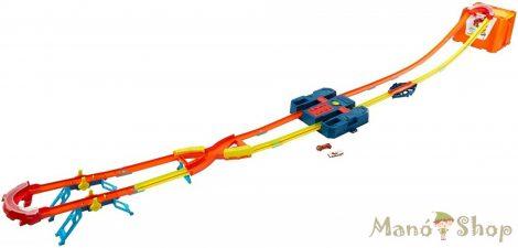 Hot Wheels Track Builder Ultimate verseny hordozható játékdoboz