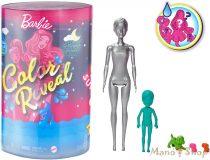 Barbie Color Reveal PizsiParty meglepetés Barbie