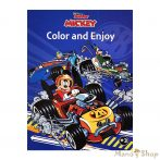 Disney Mickey and the Roadster Racers szinező - Kiddo