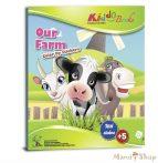 Matricás színező füzet Farm - Kiddo